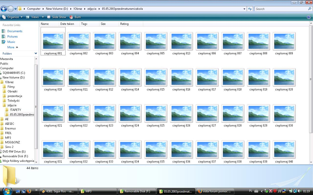 Как сделать чтобы иконки фотографий были видны windows 10
